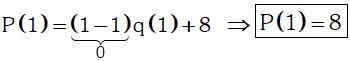 Calculando Ejemplo 2 de Divisibilidad de Polinomios