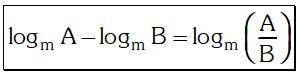 Cociente 6 de Logaritmo