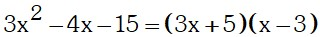 Conclusion 2 de Factorizacion por Aspa Simple