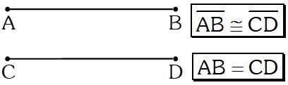 Congruencia de Segmentos
