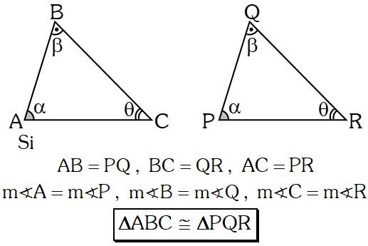 Congruencias de Triángulos
