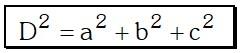 Cuatro Diagonales Paralelepípedo Rectángulo