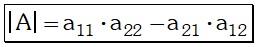 Definicion de Matriz de Orden Dos