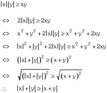 Demostración Teorema 9 de Valor Absoluto