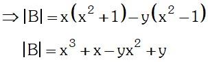 Determinante 2 de Matriz de Orden Dos