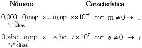 Diferencia de Calculo de las Caracteristicas