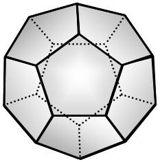 Dodecaedro Regular