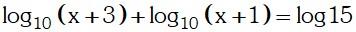 Ecuacion Resolucion 4 de Logaritmos