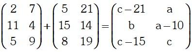Ejemplo 1 de Matrices