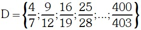 Ejemplo 1 de Teoría de Conjuntos