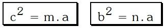 Ejemplo 2 Relaciones Métricas en el Triángulo Rectangulo
