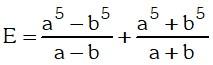 Ejemplo 2 de Cocientes Notables