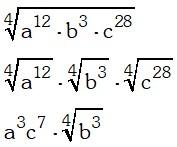 Ejemplo 2 de Factor de un Radical
