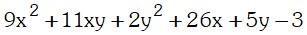 Ejemplo 2 de Factorizacion por Aspa Doble