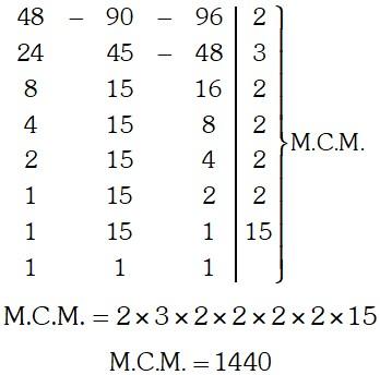 Ejemplo 2 de MCD y MCM