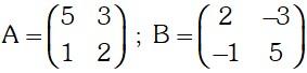 Ejemplo 2 de Matriz Inversa