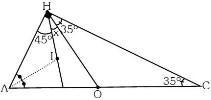 Ejemplo 2 de Puntos Notables de un Triángulo
