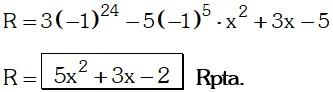 Ejemplo 2 de Teorema del Resto