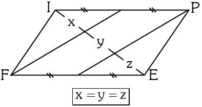 Ejemplo 3 Propiedades Especiales en los Paralelogramos