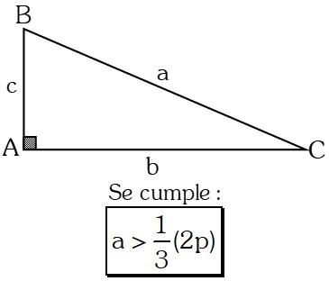 Ejemplo 3 Teoremas sobre Desigualdades con Lados en Triángulos