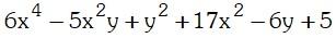 Ejemplo 3 de Factorizacion por Aspa Doble