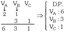 Ejemplo 3 de Regla de Tres Simple y compuesta