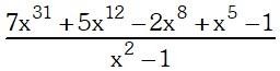 Ejemplo 3 de Teorema del Resto