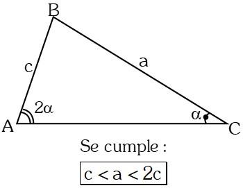 Ejemplo 4 Teoremas sobre Desigualdades con Lados en Triángulos