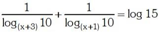 Ejemplo 4 de Logaritmos