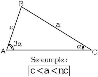 Ejemplo 6 Teoremas sobre Desigualdades con Lados en Triángulos