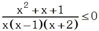 Ejemplo 7 de Desigualdades e Inecuaciones