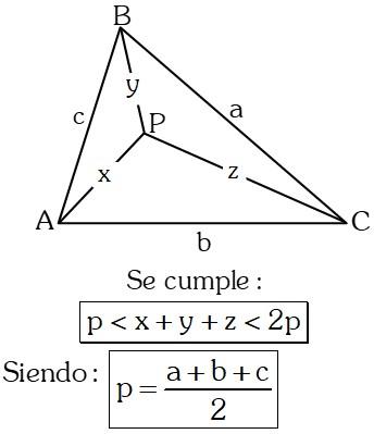 Ejemplo 8 Teoremas sobre Desigualdades con Lados en Triángulos
