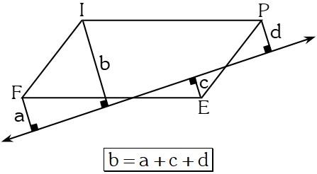 Ejemplo 9 Propiedades Especiales en los Paralelogramos