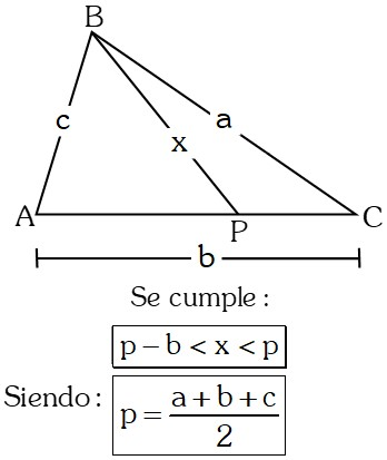 Ejemplo 9 Teoremas sobre Desigualdades con Lados en Triángulos