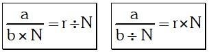 Ejemplo De Las Razones Geométricas O Por Cocientes