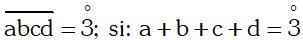 Ejemplo Divisibilidad por 3 ó múltiplos de 3