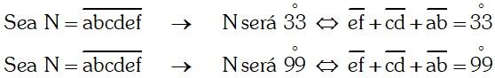 Ejemplo Divisibilidad por 33 ó 99; o múltiplos de 33 ó 99