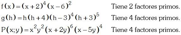 Ejemplo Factorizando en el conjunto de los Números Reales