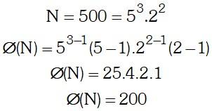 Ejemplo Indicador de un Número o Función Euler
