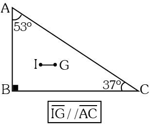 Ejemplo Teorema del Incentro y el Baricentro