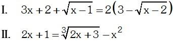 Ejemplo de Ecuación Algebraica Irracional