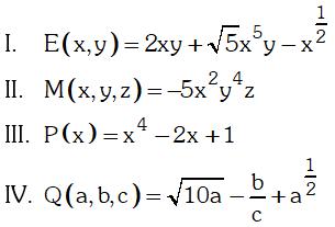 Ejemplo de Expresión Algebraica