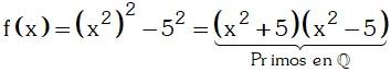 Ejemplo de Factorización en el Conjunto de los Números Racionales