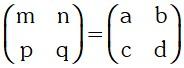 Ejemplo de Igualdad de Matrices