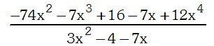 Ejemplo de Metodo de Horner - Division de Polinomios
