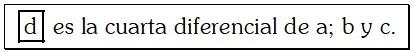 Ejemplo de Proporción Aritmética Discreta