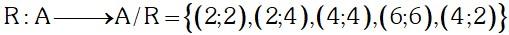 Ejemplo de Relacion de Equivalencia
