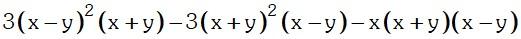 Ejemplos 3 de Factor Comun y Agrupacion de Terminos