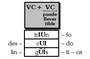 Ejemplos de Diptongo Homogeneo
