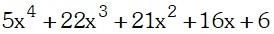 Ejemplos de Factorización por Aspa Doble Especial Ahora veremos algunos ejemplos del método de Aspa Doble Especial: Ejemplo: 01 Factorizar y dar un coeficiente cuadrático la suma de los coeficientes lineales de los factores primos:
